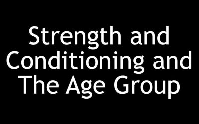 Strength and Conditioning and The Age Group Athlete